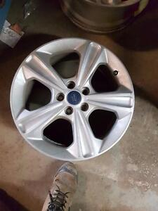 """4 mags Ford 17"""" 5X108mm, centre 63mm, largeur 8""""."""