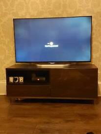 Ikea black TV unit