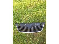 Skoda fabia MK2 front grill 2010-2014