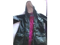 Girls Barbour Style Coat from Joules