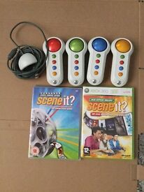 Xbox 360 scene it games and controllers