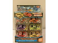 URBAN BLAZERZ PULL BACK N 'GO 6 PACK FRICTION STUNT RACERS TOYS BOYS GIFTS CARS