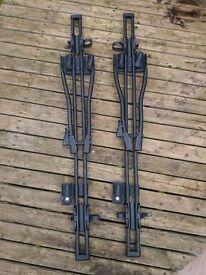Thule 532 Bicycle Roof Rack Carriers - Pair - Black