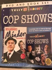 DVD and Book Set - Cop Shows