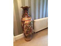 Stunning Large Chinese Floor Standing Vase