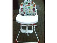 BABY SAFARI HIGH CHAIR
