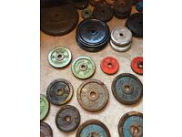 Cast iron weights wanted,gym,dumbbells