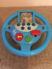 Bruin kids sound steering wheel