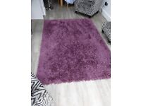 Extra Large Plum Coloured Rug (from NEXT)