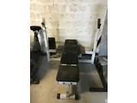 PowerSport Commercial Grade Olympic Bench Press - Weights Gym