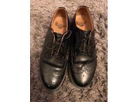 Doc Marten Black Brogue shoes size 7