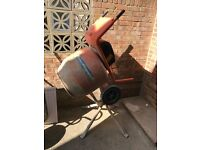 Belle Minimix 150 Year 2013 Cement Mixer plus stand