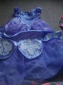 Sofia the first dressing up costume