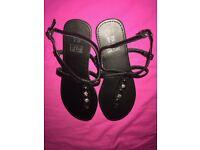 Jewelled sandals F & F