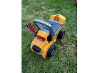Little tikes ride on dumper truck