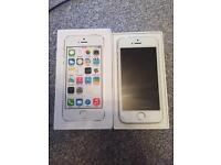 iPhone 5s white. New screen