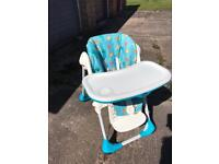 Highchair - Chicco Polly 2 in 1