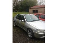 1999 silver 306 1.4 Petrol Meridian 5dr for sale/parts (ideal field car,)