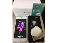 Apple Iphone 6 Unlocked To EE Network White/Gold Boxed Charger & Simcard Great Condition