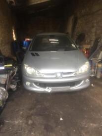 Peugeot 206 Back Axle disk brakes