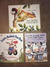 CHILDREN'S BOOKS (Advert 4 of 6 set of books)