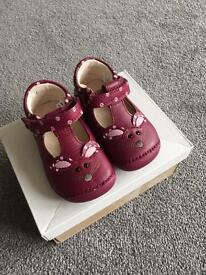 Brand new clarks baby shoes