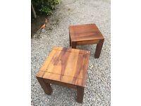 2 Oak Tables