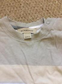 Baby Burberry t shirt
