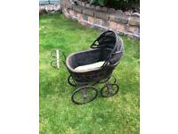 Antique Victorian Child's Dolls Pram
