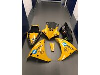 Yamaha r1 Big Bang race fairings