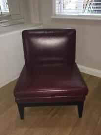 M&S leather Chair