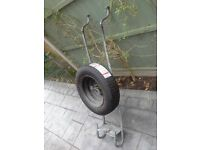 ALKO Spare Wheel Carrier Complete With Wheel & New Tyre