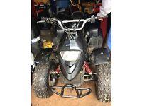 Black 100cc quad