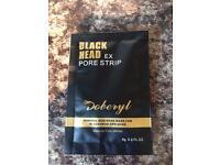 Black head pore strip