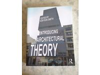 Introducing architectural theory edited by korydon smith