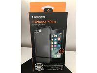 *Spigen iPhone 7 Plus Gunmetal Flip Armor Case Brand New*