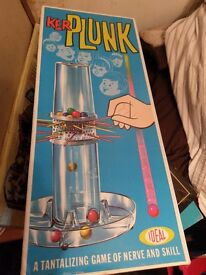 Rare Kerplunk game from late 60,s early 70,s thereabouts