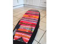 6 4 retro fish surfboard