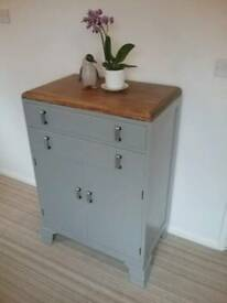 SMART SHABBY CHIC TALLBOY / CABINET 2 DRAWERS