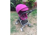 Stokke scoot purple pram stroller