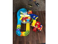 Toot toot fire engine bundle