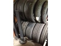 245/45/20 Continental Cross Contact £75 Range Rover Tyres- Also have Dunlop SportMax 255/35/20