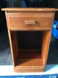 CLEARANCE bedside cabinet FREE DELIVERY PLYMOUTH AREA