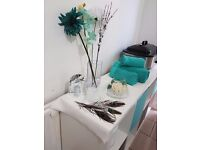 Beauty and Massage, Manicure, Pedicure, Shellac, Facial,. all type of waxing