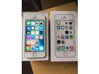 iPhone 5S 02 / Giffgaff / Tesco silver 16GB Excellent condition