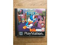 PlayStation 1 Donald Duck game. Ps1