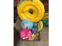 Baby and child swim items
