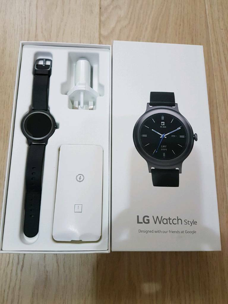 As new LG Style Android smartwatch