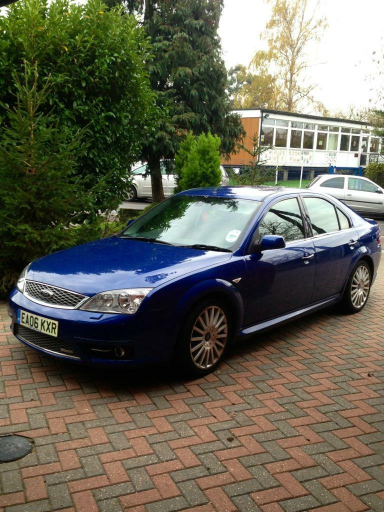 2006 ford mondeo st220 58197 miles 5 door hatchback performance blue ebony interior mot till. Black Bedroom Furniture Sets. Home Design Ideas