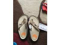 Junior summer shoes size 1.new